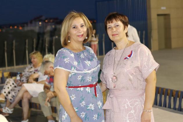 Празднование Дня российского флага в Симферополе
